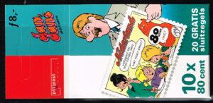 Nederland 1998 Postzegelboekje Strippostzegels NVPH 1783 PB 51