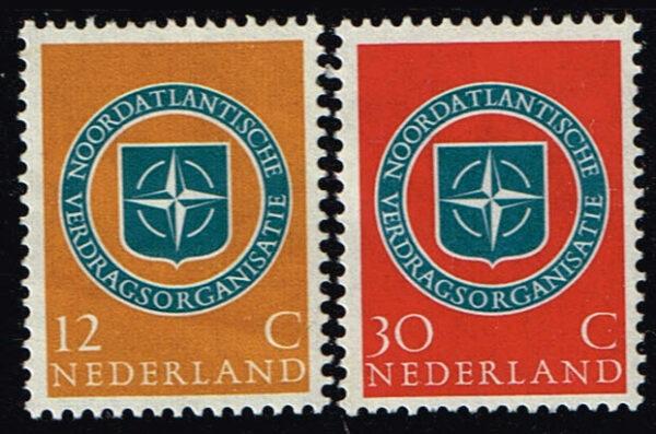 Nederland 1959 NAVO NVPH 720-721