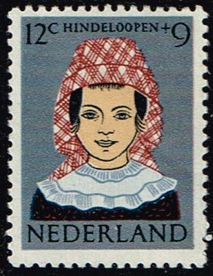 Nederland 1960 Kinderzegels klederdrachten 12+9ct NVPH 750