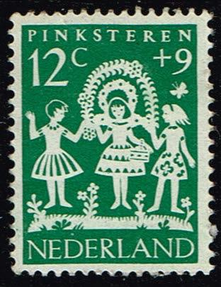 Nederland 1961 Kinderzegels folklore 12+9 ct NVPH 762
