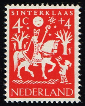 Nederland 1961 Kinderzegels folklore NVPH 759