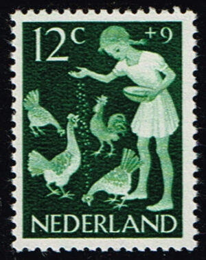 Nederland 1962 Kinderzegels vrije tijd 12+9ct NVPH 782
