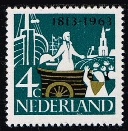 Nederland 1963 Onafhankelijkheid 4 ct NVPH 807