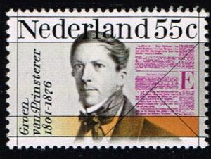 Nederland 1976 100e sterfdag Mr. Groen van Prinsterer NVPH 1090