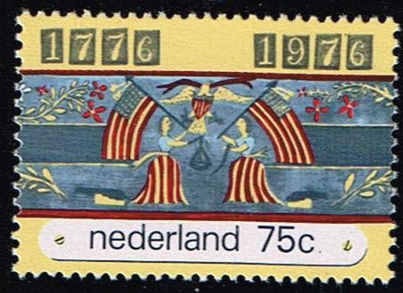 Nederland 1976 200 jaar onafhankelijkheid Verenigde Staten van Amerika NVPH 1091