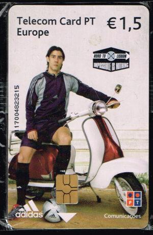 Telecom Card PT Europe - Euro 2004 ongebruikt