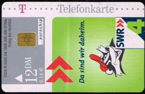 Telefoonkaart Duitsland 1999 Deutsche Telekom SWR4 Augenoptiker