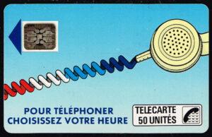 Telefoonkaart Frankrijk 1988 France Telecom 01-88 Pour Téléphoner 15422