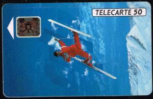 Telefoonkaart Frankrijk 1991 France Telecom Les XVI Jeux Olympique d' Hiver 12/91