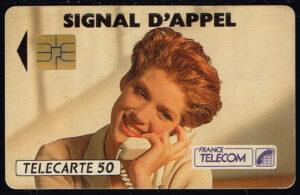 Telefoonkaart Frankrijk 1992 France Telecom Signal D´Appel 07/92