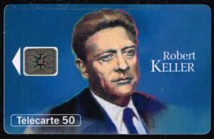 Telefoonkaart Frankrijk 1993 France Telecom Robert Keller 11/93