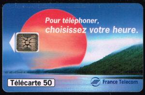 Telefoonkaart Frankrijk 1994 France Telecom 11/94 Pour téléphoner C4B0