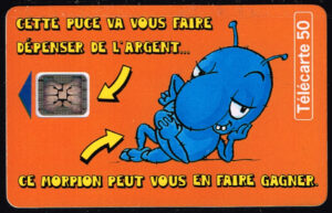 Telefoonkaart Frankrijk 1994 France Telecom 12/94 Morpion C520