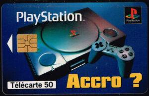 Telefoonkaart Frankrijk 1996 France Telecom 11/96 Playstation Sony A6C1