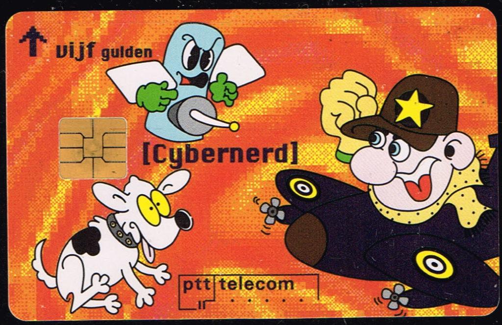 Telefoonkaart Nederland 1995 PTT Telecom Cybernerd