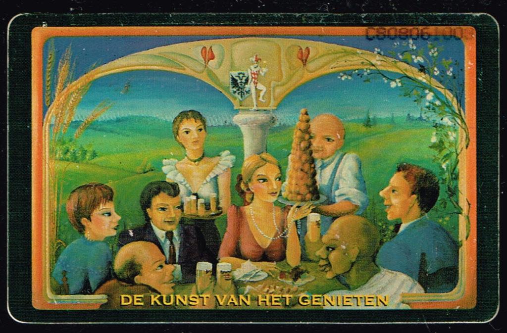 Telefoonkaart Nederland 1996 PTT Telecom Brand Bier C808061003