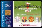 Telefoonkaart Nederland 2002 Chip betaalkaart Amsterdam Tournament