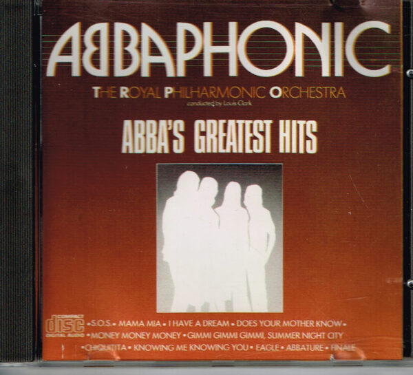 ABBAPHONIC -ABBA's Greatest Hits Label Disky DCD 5007