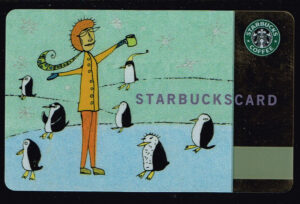 Giftcard Starbuckscard 2003 card number 6013