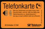 Telefoonkaart Duitsland 1990 Deutsche Telekom Freudenhäuschen P16 10.90