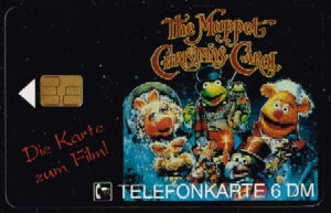 Telefoonkaart Duitsland 1993 Deutsche Telekom Die Karte zum Film The Muppet