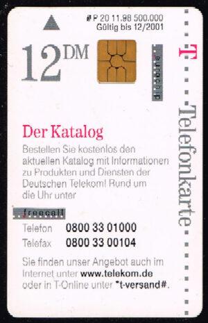 Telefoonkaart Duitsland 1998 Deutsche Telekom T-Versand Der Katalog