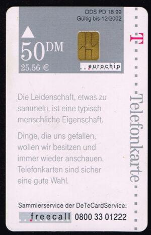 Telefoonkaart Duitsland 1999 Deutsche Telekom Und was sammeln Sie?