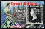 Telefoonkaart Verenigd Koninkrijk 2002 Great Britain One Penny Black