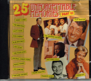 Various - 25 Unforgettable Memories Part III EAN 5708985999467