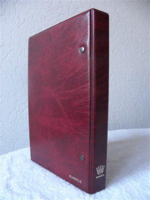 Importa album Blanco-S voor Telefoonkaarten met 15 bladen Tele-S.