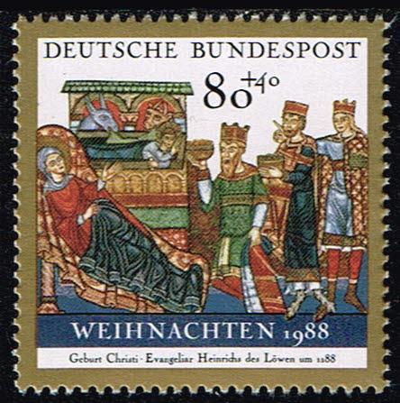Duitsland (BRD) 1988 Weihnachten Michel 1396
