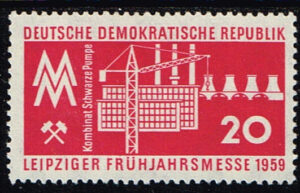 Duitsland (DDR) 1959 Leipziger Frühjahrsmesse Michel 678