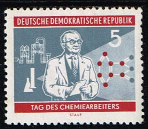 Duitsland (DDR) 1960 Tag des Chemiearbeiters 5 pf Michel 800