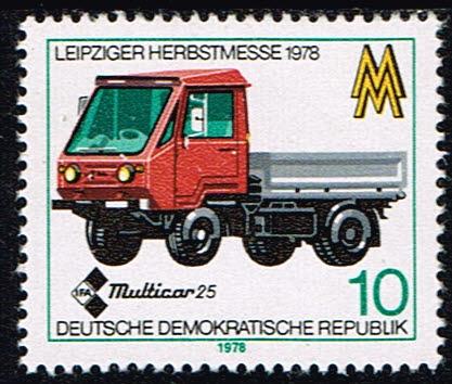 Duitsland (DDR) 1978 Leipziger Herbstmesse 10 pf Michel 2353