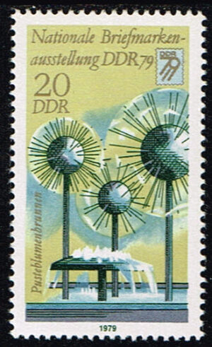 Duitsland (DDR) 1979 Nationale Briefmarkenausstellung DDR `90 Michel 2442