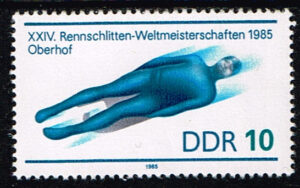 Duitsland (DDR) 1985 Rennrodel-Weltmeisterschaft Michel 2923