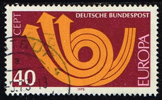Europazegels Duitsland (BRD) 1973 Europa gestempeld Michel 769