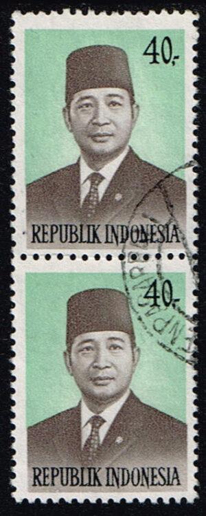 Indonesië 1974 Frankeerzegels President Soeharto gestempeld Michel 780