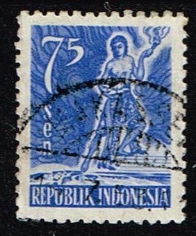 Indonesie 1953 Indonesische Edelmannen Michel 107