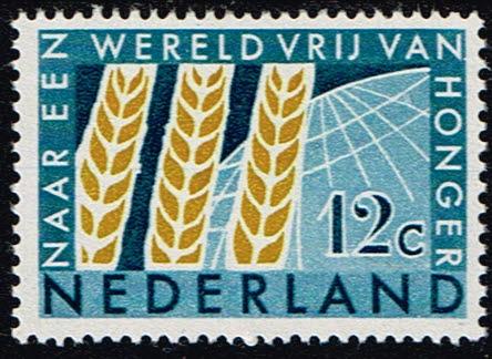 Nederland 1963 Internationaal anti Hongerjaar NVPH 784