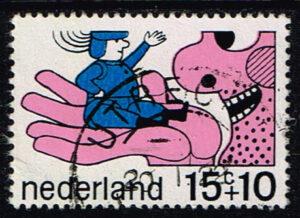Nederland 1968 Kinderzegels sprookjesfiguren gestempeld NVPH 913