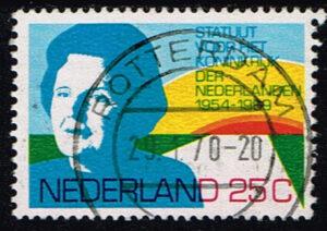 Nederland 1969 15 jaar Statuut voor het Koninkrijk gestempeld NVPH 938