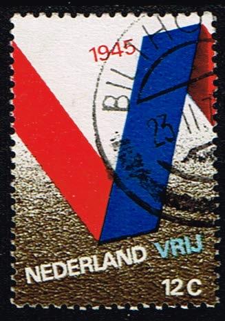 Nederland 1970 25 jaar Bevrijd gestempeld NVPH 970