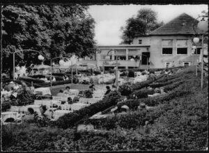 Ansichtskarte Bielefeld Kaffee und Gartenrestaurant Zur Schönen Aussicht