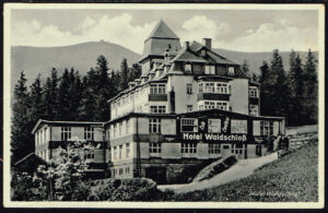 Ansichtskarte / Postkarte Brückenberg 1942 Hotel Waldschloss
