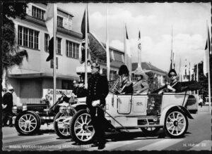 Ansichtskarte Postkarte München 1965 Internationale Verkehrsausstellung