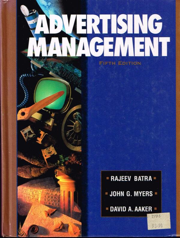Advertising Management David Aaken ISBN 0133057151