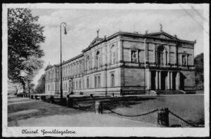 Ansichtskarte Postkarte Kassel 1940 Gemaldegalerie 9591