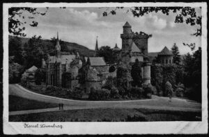 Ansichtskarte Postkarte Kassel 1940 Lowenburg 7726