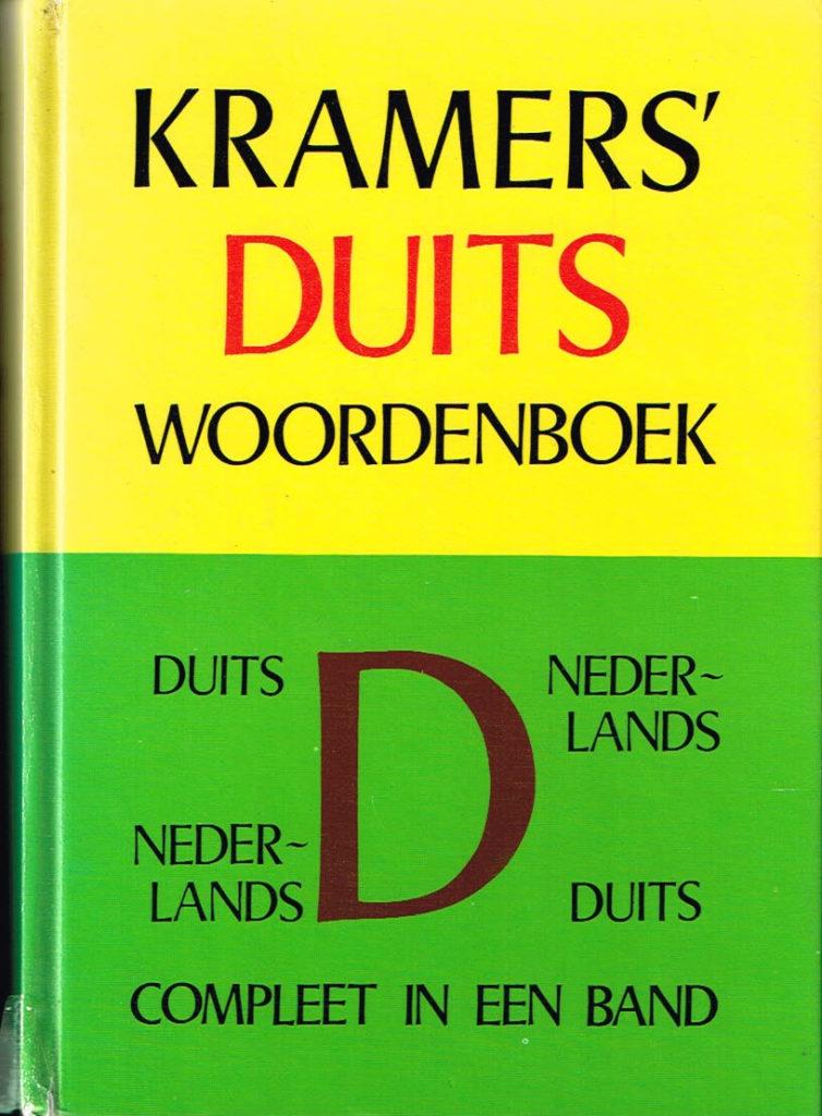 Kramers Duits woordenboek compleet in een band ISBN 9010037142